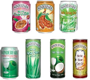 Sản phẩm củaCông ty CP Thực phẩm Quốc tế.