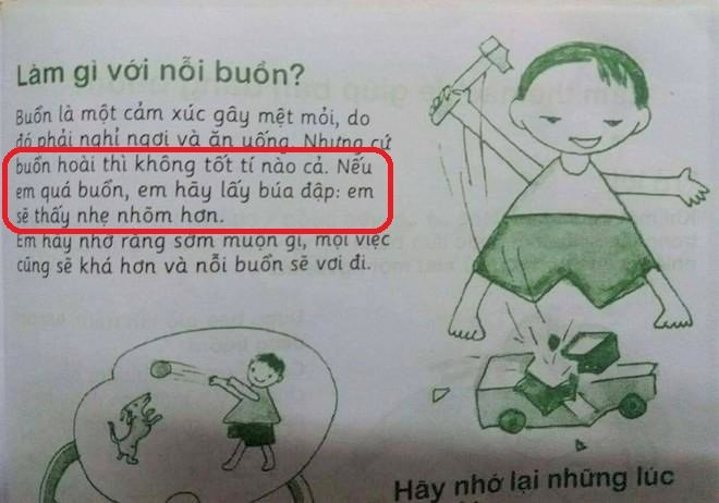 Nội dung dạy trẻ vượt qua nỗi buồn trong cuốn sách