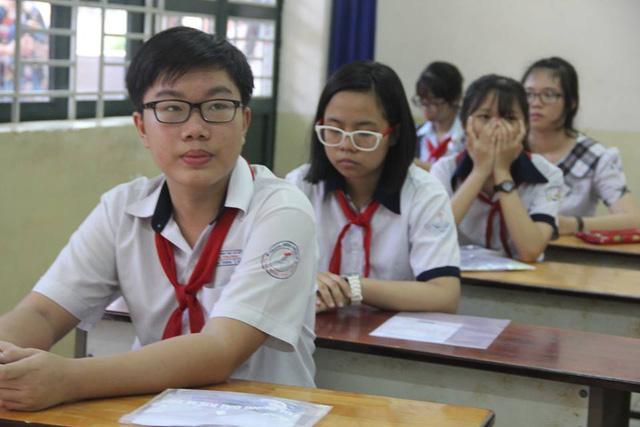 TPHCM có gần 82.000 thí sinh đăng ký dự thi vào lớp 10 năm học 2017-2018, trong khi chỉ tiêu là hơn 63.000.
