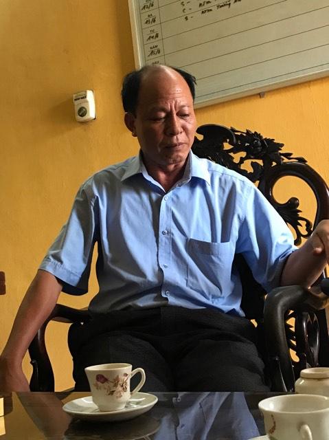 Ông Lê Ngọc Quang - Chủ tịch UBND xã Đọi Sơn.