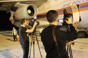 Các phóng viên Nga cũng sang Việt Nam tác nghiệp, đưa tin sự kiện