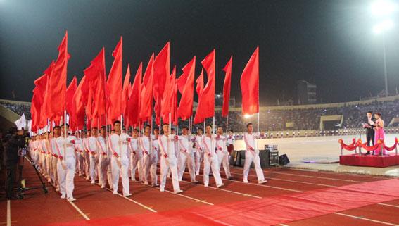 7.000 vận động viên sẽ tham gia Đại hội Thể thao toàn quốc lần thứ VIII