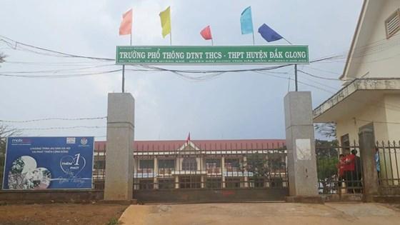 Trường Phổ thông Dân tộc nội trú THCS - THPT Đắk G'Long