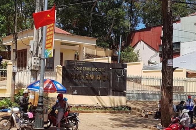 Trường THCS Nguyễn Bỉnh Khiêm (Laodong.vn)
