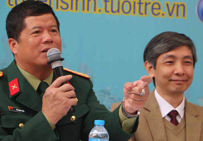 Đại tá Vũ Xuân Tiến. (Ảnh: Quyên Quyên)