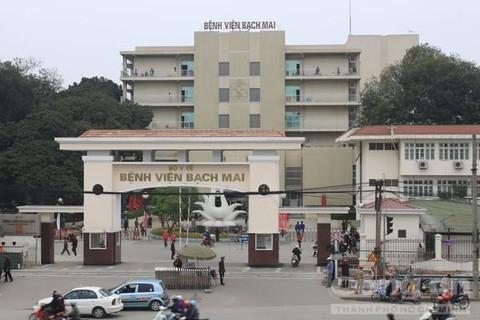 Bệnh viện Bạch Mai, nơi xảy ra sự việc
