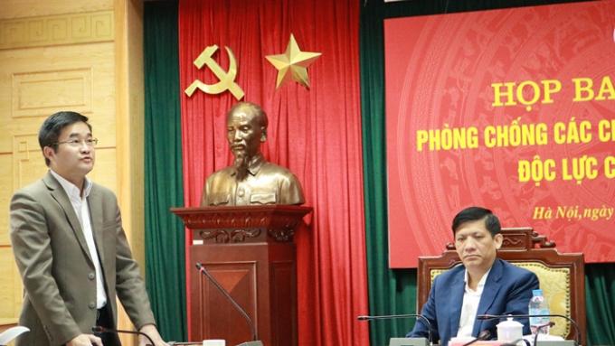 BYT - TS Hoang Minh Duc- Cuc pho cuc y te du phong