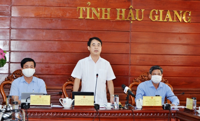 Nghiem Xuan Thanh - bao HG
