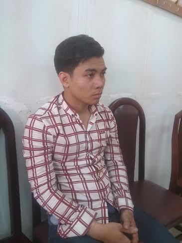 Đối tượng Nguyễn Tấn Phương.