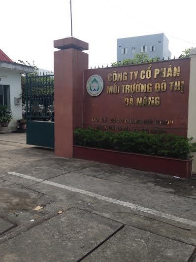 Công ty Môi trường Đô thị Đà Nẵng.