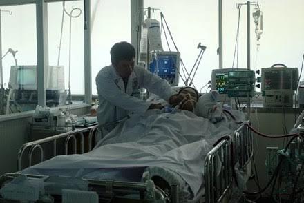 Tình trạng bệnh nhân đã ổn định hơn.