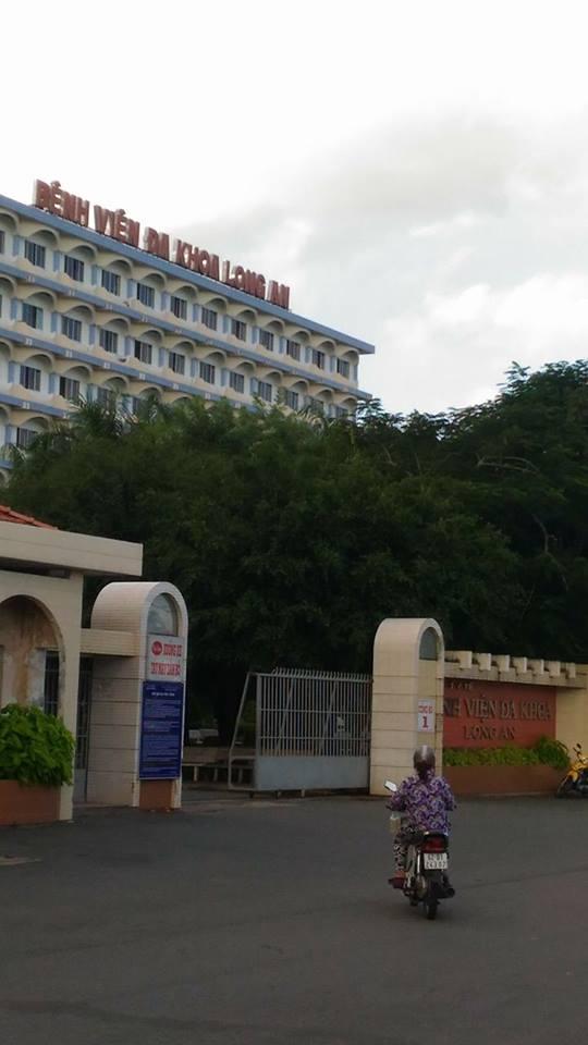 Bệnh viện Đa khoa Long An.