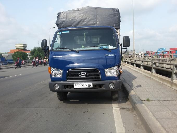 Chiếc xe tải liên quan.