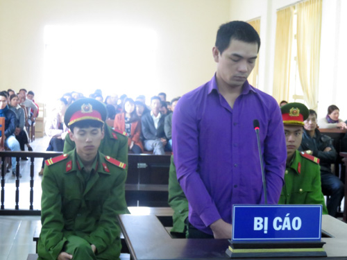 Bị cáo Trần Quốc Vũ.