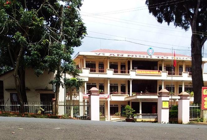 Trụ sở Công an huyện Di Linh, tỉnh Lâm Đồng.