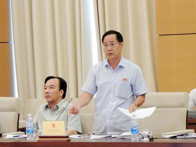 Uỷ viên thường trực Uỷ ban Quốc phòng - An ninh Nguyễn Mai Bộ.