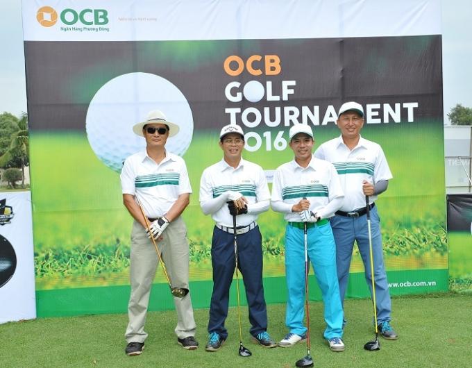 Ngân hàng Phương Đông tổ chức giải Golf Tournament tri ân khách hàng