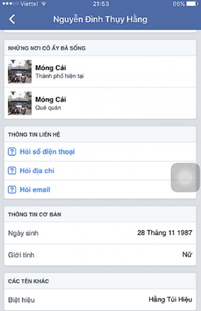 Hotgirl Quảng Ninh bị tố lập facebook, lừa đảo bán hàng qua mạng