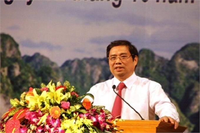 Ông Phạm Minh Chính.