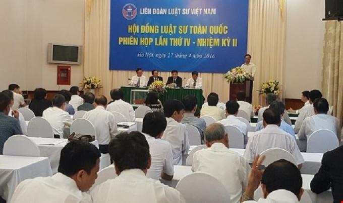 Công bố kết quả bầu Chủ tịch LĐLSVN nhiệm kỳ II.