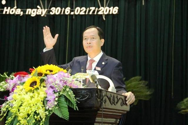 ÔngTrịnh Văn Chiến- Bí thư Tỉnh ủy, Chủ tịch HĐND tỉnh Thanh Hóa.