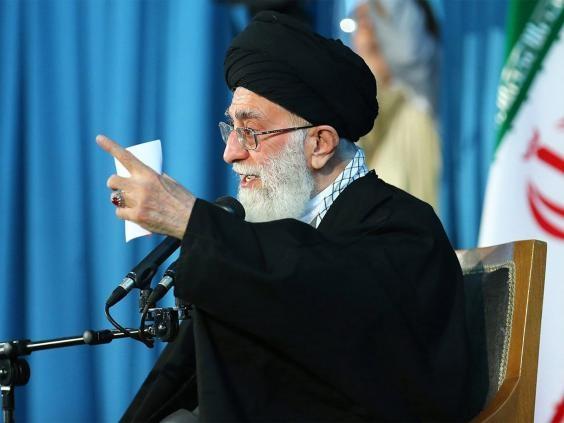 Lãnh đạo tối cao của Iran Ayatollah Ali Khamenei. ( Ảnh: EPA)