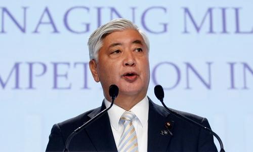 Bộ trưởng Quốc phòng Nhật Bản Gen Nakatani. (Ảnh:Reuters).
