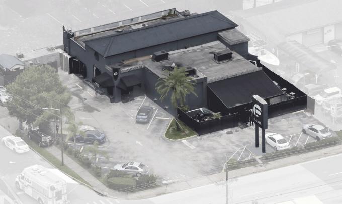 Khu vực xảy ra vụ thảm sát ở Orlando. (Đồ họa: NewYork Times)