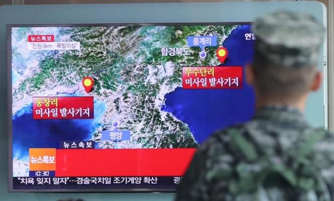 Phía Hàn Quốc cho biết, nếu vụ hạt nhân này là thật thì đây sẽ là vụ thử hạt nhânmạnh nhất của Triều Tiên từ trước đến nay. (Ảnh: Reuters)