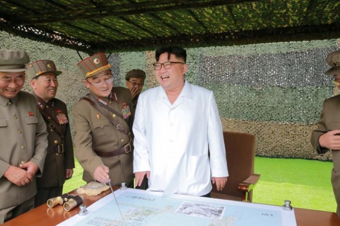 Lãnh đạo Triều Tiên từng tuyên bố sẽ không dừng lại các vụ thử hạt nhân và phóng tên lửa. (Ảnh: KCNA)