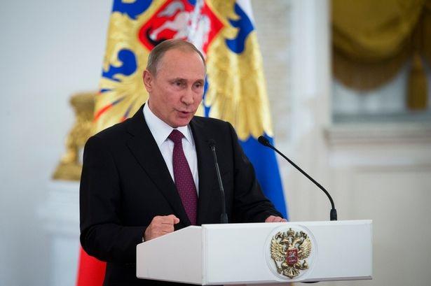 Tổng thống Putin phát biểu sau khi đảng cầm quyền của ông giành chiến thắng. (Ảnh: AP)