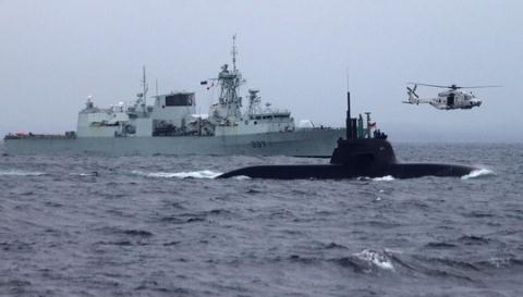 NATO tập trận tại Biển Đen.