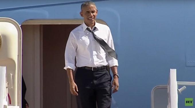 Tổng thống Mỹ Barack Obama. (Ảnh: RT)