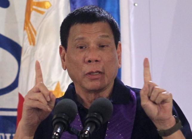 Tổng thống Philippines Duterte. (Ảnh: Reuters)