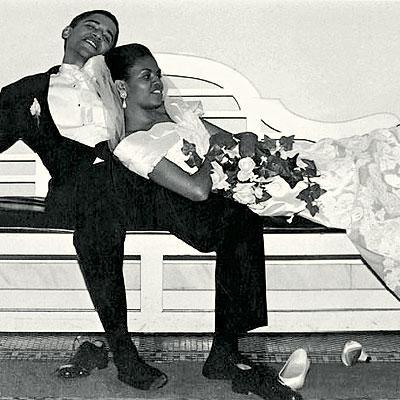 Tổng thống Obama và vợ kết hôn ngày 3/10/1992 tại Chicago.