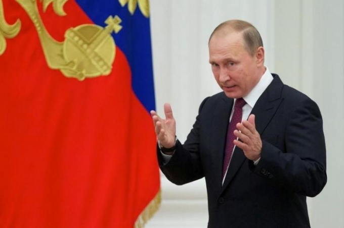 Tổng thống Nga Putin. (Ảnh: Reuters)