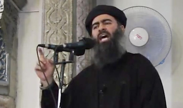Thủ lĩnh tối cao IS. (Ảnh: AFP)