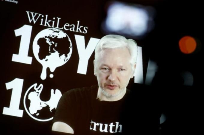 Nhà sáng lập WikileaksJulian Assange. (Ảnh: Reuters)