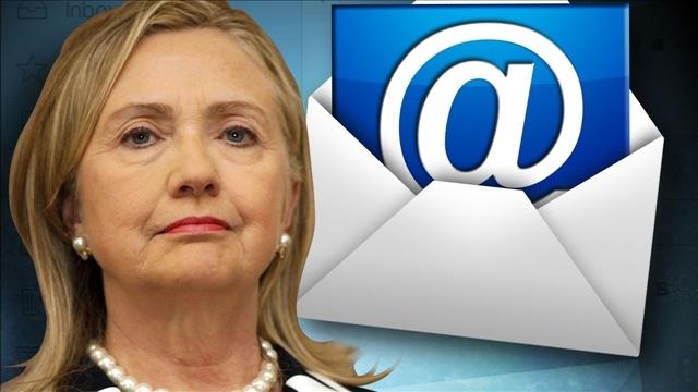 Vụ bê bối email khiến bà Hillary gặp nhiều khó khăn trên con đường chạy đua vào Nhà Trắng. (Ảnh: Getty)