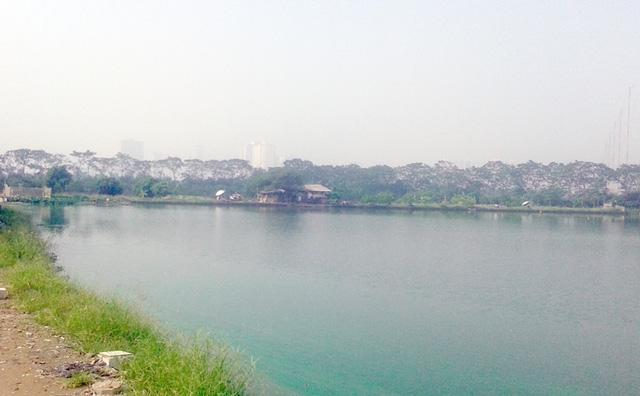 Khu vực được quy hoạch xây dựng nhà máy xử lý nước thải ở huyện Thanh Trì.