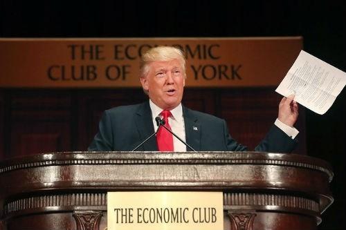 Ông Donald Trump được cho là đã khai báo lỗ gần 1 tỷ USD để trốn thuế trong suốt 18 năm. (Ảnh: Getty)