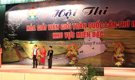 Hội thi Hòa giải viên giỏi toàn quốc lần thứ III khu vực miền Bắc.