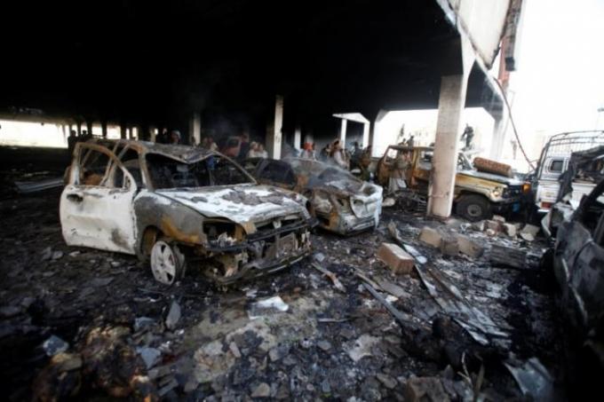Trước cáo buộc từ phía Liên Hợp Quốc và Yemen, Arab Saudi đã lên tiếng phủ nhận cuộc tấn công. Tuy nhiên phía Nhà Trắng đã lên tiếng quở trách và bắt đầu xem xét lại sự hỗ trợ dành cho liên quân do Ả Rập Saudi dẫn đầu. (Ảnh: Reuters)