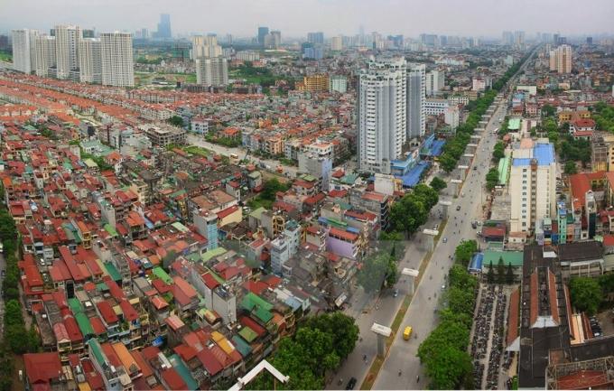 Quận Hà Đông, Hà Nội ngày nay. Ảnh: Trọng Đạt/TTXVN.
