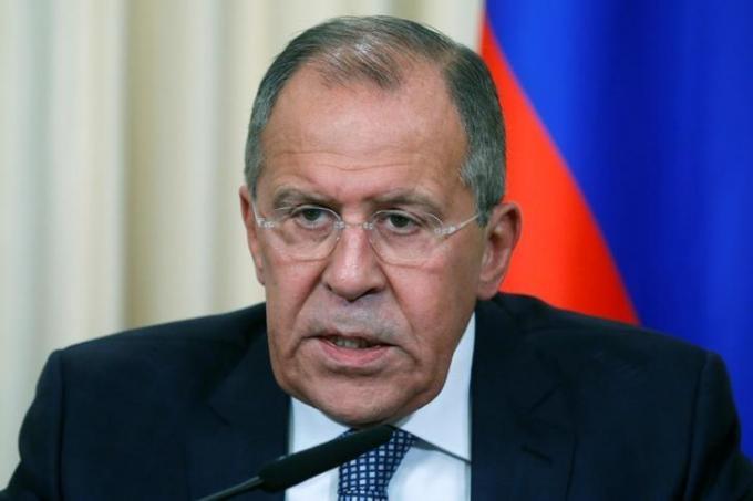 Ngoại trưởng NgaSergei Lavrov. (Ảnh: Reuters).