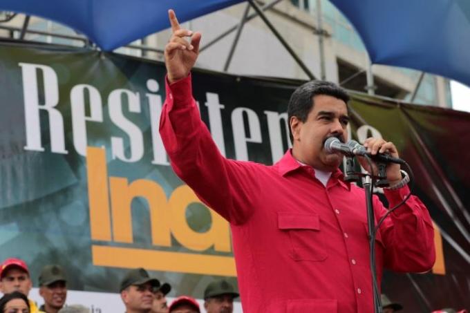 Tổng thống Venezuela Nicolas Maduro. (Ảnh:Reuters)