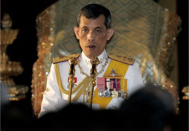 Thái tử Vajiralongkorn. (Ảnh:AFP)