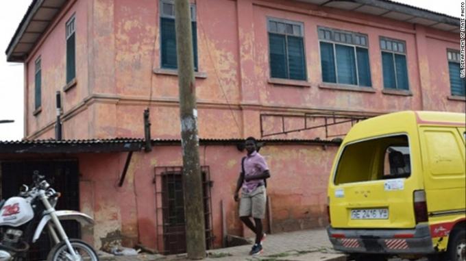 Đại sứ quán Mỹ giả ở thủ đô Accra, Ghana. (Ảnh: Bộ Ngoại giao Mỹ)
