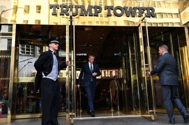 Tháp Trump là nơi ở hiện tại của tỷ phú bất động sản. (Ảnh: AFP)
