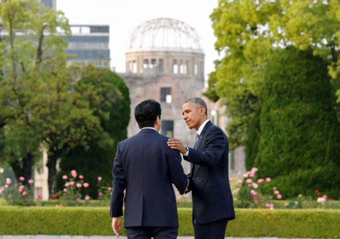 Ngày 27/5/2016, Tổng thống Barack Obama đã đến thăm Hiroshima, trở thành nguyên thủ Mỹ đầu tiên đến thăm thành phố của Nhật Bản từng bị Mỹ thả bom nguyên tử vào tháng 8/1945.
